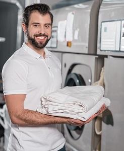 Großwäscherei geeignete Berufsbekleidung